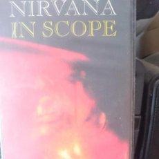 Cine: VHS - NIRVANA - IN SCOPE --REFM1E4. Lote 84454572