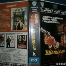Cine: ((PELICULA-VHS))-BRANNIGAN. Lote 84461424