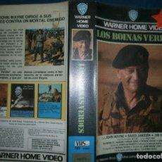 Cine: ((PELICULA-VHS))-LAS BOINAS VERDES. Lote 84461584