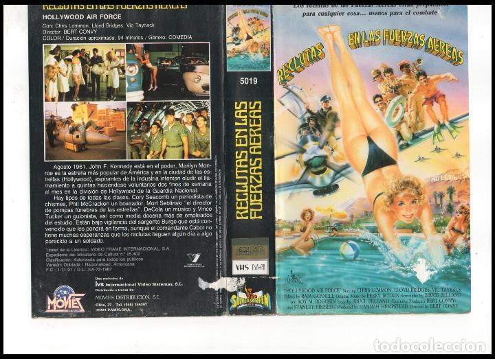 VHS - RECLUTAS EN LAS FUERZAS AEREAS - TEEN MOVIE (Cine - Películas - VHS)