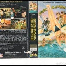 Cine: VHS - RECLUTAS EN LAS FUERZAS AEREAS - TEEN MOVIE. Lote 84467692