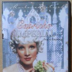 Cine: CAPRICHO IMPERIAL. STERNBERG & MARLENE DIETRICH. Lote 84573108
