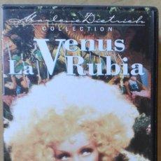 Cine: LA VENUS RUBIA. STERNBERG & MARLENE DIETRICH. Lote 84573304