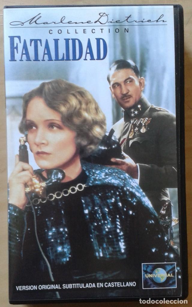 FATALIDAD. STERNBERG & MARLENE DIETRICH (Cine - Películas - VHS)