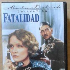 Cine: FATALIDAD. STERNBERG & MARLENE DIETRICH. Lote 84573348