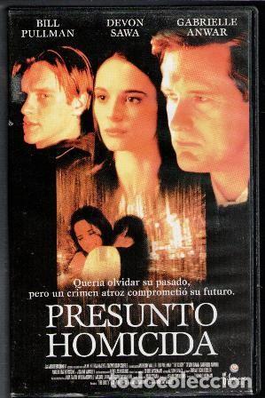 VHS PRESUNTO HOMICIDA (Cine - Películas - VHS)
