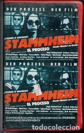VHS STAMMHEIM. EL PROCESO. (Cine - Películas - VHS)