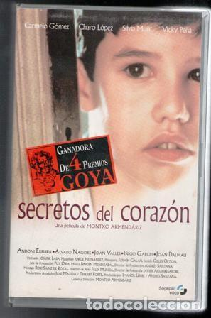 VHS SECRETOS DEL CORAZÓN, CAJA GRANDE (Cine - Películas - VHS)