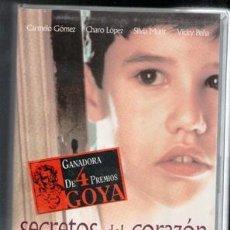 Cine: VHS SECRETOS DEL CORAZÓN, CAJA GRANDE. Lote 85154612