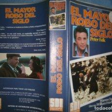 Cine: ((PELICULA-VHS))-EL MAYOR ROBO DEL SIGLO. Lote 85215296