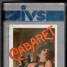 Cine: VHS, CABARET. CAJA GRANDE. IVS. Lote 85739088