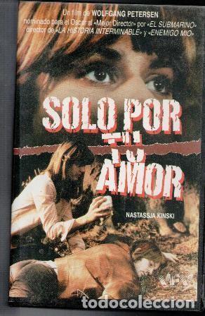 VHS SÓLO POR TU AMOR. CAJA GRANDE (Cine - Películas - VHS)