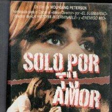 Cine: VHS SÓLO POR TU AMOR. CAJA GRANDE. Lote 85739688