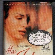 Cine: VHS MISS JULIE. Lote 85739836