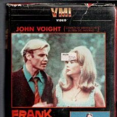 Cine: VHS FRANK EL TEMERARIO. CAJA GRANDE. Lote 85740220