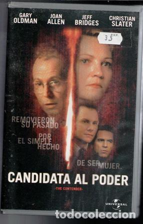 VHS CANDIDATA AL PODER. CAJA GRANDE. (Cine - Películas - VHS)