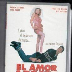 Cine: VHS EL AMOR APESTA,. Lote 85740688