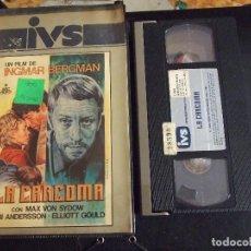 Cine: LA CARCOMA - INGMAR BERGMAN - MAX VON SYDOW , BIBI ANDERSSON - IVS 1984. Lote 146379114
