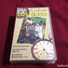 Cine: LOS CINCO VHS CAPÍTULOS AVENTURAS. Lote 86090204
