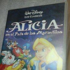 Cine: ALICIA EN EL PAIS DE LAS MARAVILLAS.VHS. Lote 86365518
