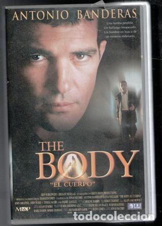 VHS THE BODY, EL CUERVO, ANTONIO BANDERAS. CAJA GRANDE (Cine - Películas - VHS)