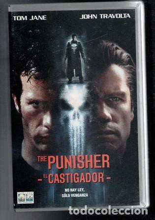 VHS, THE PUNISHER, EL CASTIGADOR. TOM JANE JOHN TRAVOLTA (Cine - Películas - VHS)