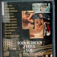 Cine: VHS TODOS DICEN I LOVE YOU, DE WOODY ALLEN. CAJA GRANDE. Lote 86383312