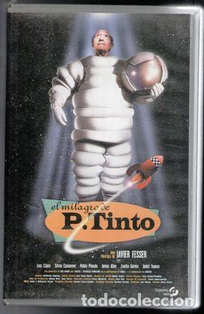 VHS EL MILAGRO DE P. TINTO, JAVIER FESSER. CAJA GRANDE (Cine - Películas - VHS)