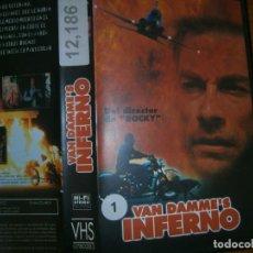 Cine: INFIERNO--((PELICULA -VHS...COMPRA MINIMA -10 €)). Lote 86396316