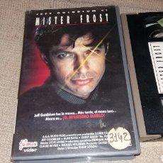 Cine: MISTER FROST - VHS- JEFF GOLDBLUM. Lote 86442392