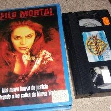 Cine: FILO MORTAL- VHS- SCIFI. Lote 86454168