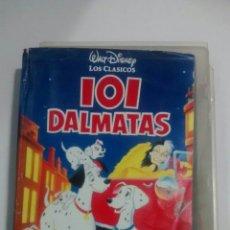 Cine: VHS DISNEY 101 DALMATAS. Lote 86599663