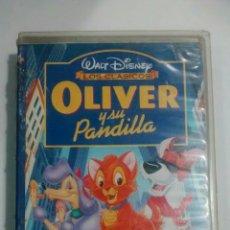 Cine: VHS DISNEY OLIVER Y SU PANDILLA. Lote 86600820