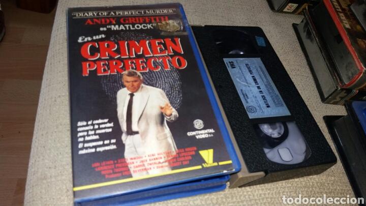 MATLOCK EN UN CRIMEN PERFECTO- VHS- ANDY GRIFFITH (2) (Cine - Películas - VHS)