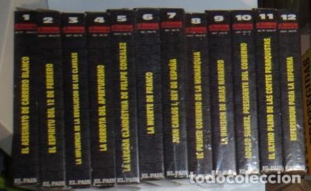 LA TRANSICIÓN ESPAÑOLA, VHS, 13 CINTAS, RTVE, EL PAÍS. COMPLETO. (Cine - Películas - VHS)