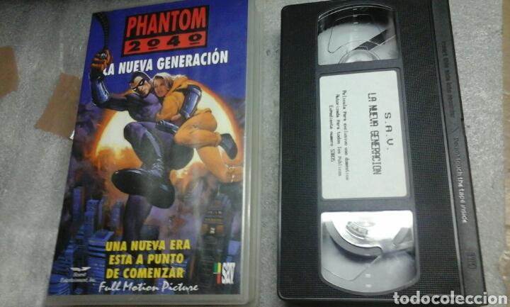PHANTOM 2040.LA NUEVA GENERACION.1994 (Cine - Películas - VHS)