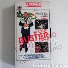 Cine: BUSTER EL ROBO DEL SIGLO PELÍCULA HECHO REAL PHIL COLLINS - LADRÓN EDWARD TREN CORREO DE GLASGOW VHS. Lote 87028200