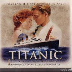 Cine: (PELICULA-VHS COMPRA MINIMA 10 €)-TITANIC . Lote 87378132