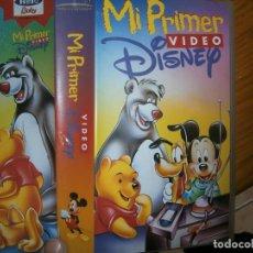 Cine: (PELICULA-VHS COMPRA MINIMA 10 €)-MI PRIMER VIDEO DISNEY. Lote 87378808