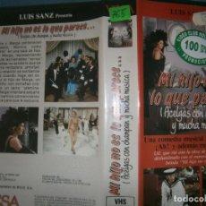 Cine: MI HIJO NO ES LO QUE PARECE. (PELICULA VHS). Lote 87414136