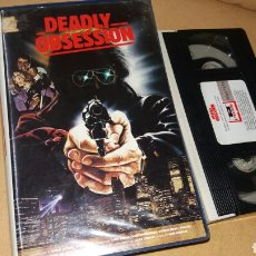 Cine: DEADLY OBSESION- VHS- MARK MAMNESS. Lote 87529207