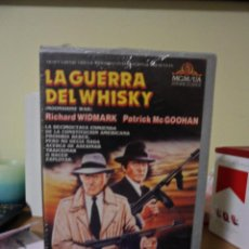 Cine: LA GUERRA DEL WHISKY - VHS ORIGINAL - 1 EDICION MGM - AUDIO Y VIDEO EXCELENTE - IMPECABLE. Lote 87557368