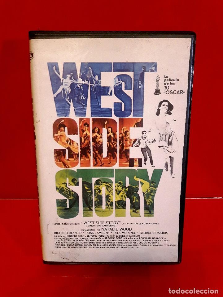 WEST SIDE STORY (1961) - AMOR SIN BARRERAS. EDIC. ARCAICA VIDEOSPACE!!! NUNCA EN TC (Cine - Películas - VHS)