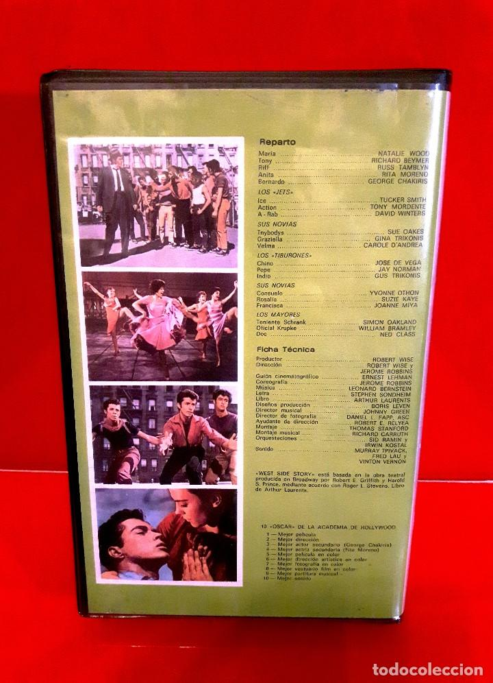 Cine: WEST SIDE STORY (1961) - AMOR SIN BARRERAS. EDIC. ARCAICA VIDEOSPACE!!! NUNCA EN TC - Foto 2 - 87589420