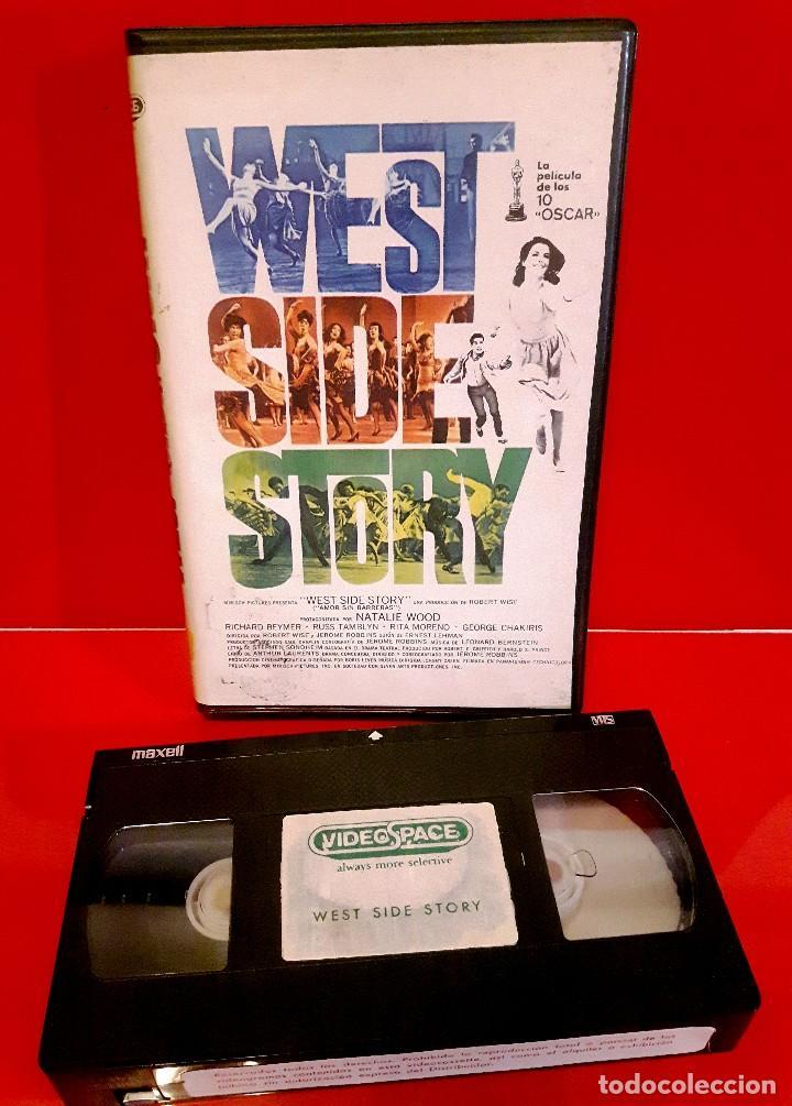 Cine: WEST SIDE STORY (1961) - AMOR SIN BARRERAS. EDIC. ARCAICA VIDEOSPACE!!! NUNCA EN TC - Foto 3 - 87589420