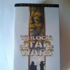 Cine: STAR WARS TRILOGÍA, VIDEO VHS, WIDESCREEN FOX, MASTERIZADA DIGITALMENTE, AÑO 2000, EDICIÓN ESPECIAL. Lote 87722880