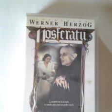 Cine: NOSFERATU, VIDEO VHS MANGA HOME VIDEO, KLAUS KINSKI, ISABELLE ADJANI, WERNER HERZOG, 1978. Lote 87736476