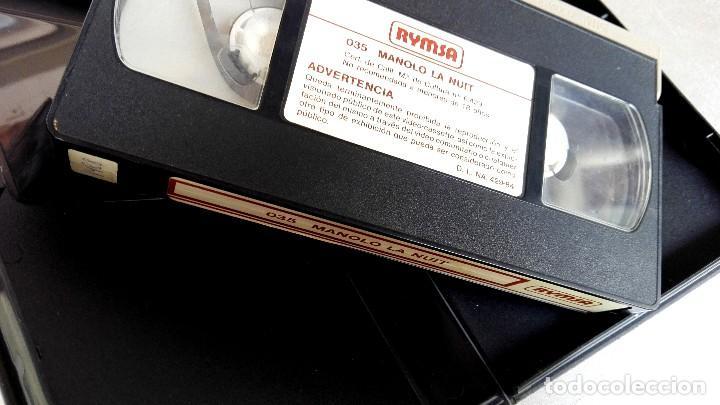 Cine: VHS - MANOLO LA NUIT - Alfredo Landa, Nadiuska, Antonio Ozores, Mariano Ozores - Foto 4 - 88001408