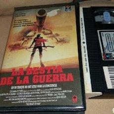 Cine: LA BESTIA DE LA GUERRA- VHS- DIR: KEVIN REYNOLDS. Lote 88790655