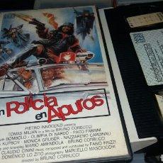 Cine: UN POLICIA EN APUROS- VHS-